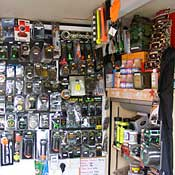 Our tackle shop.